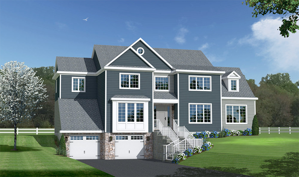 2800 Sq. Ft. Model Single Family Home at The Reserve at Mahwah NJ - a1-house